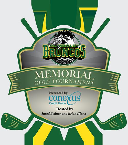 Broncos Memorial Golf Tournament Logo