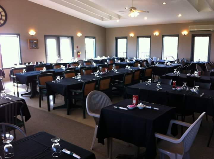HGC Dining Room Ready for your Staff Party!