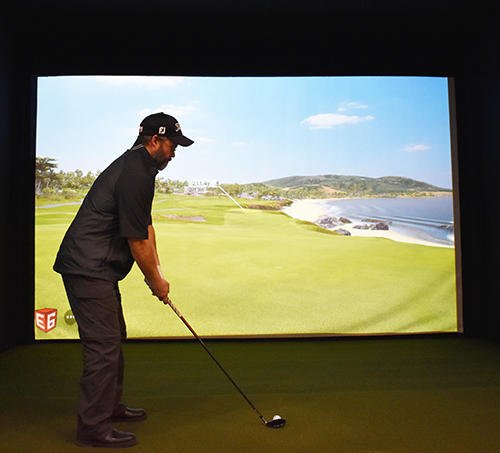 Humboldt Golf Club - Golf Simulators 3